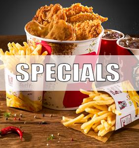 Specials bei KFC